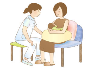 第22回 産後⑤ 直接授乳(直母)−2 抱き方について